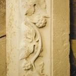 réalisation de frise en pierre taillée , Huate-Loire