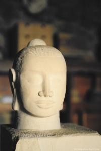 élément de décoration en pierre taillée en Haute-Loire